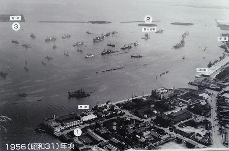 東京港、昭和31年