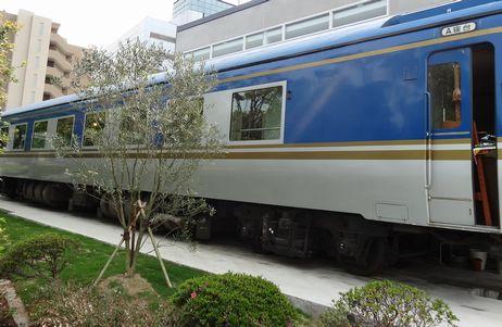 鉄道の客車が