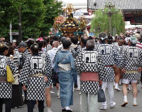 各町内の神輿