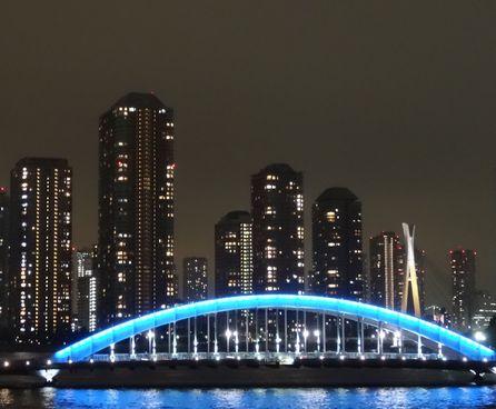 永代橋夜景