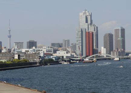 隅田川の河口