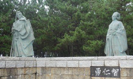 勧進帳の銅像
