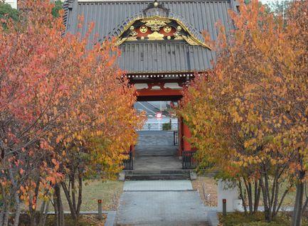 台徳院殿霊廟惣門