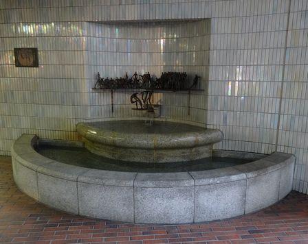 洗足の井戸
