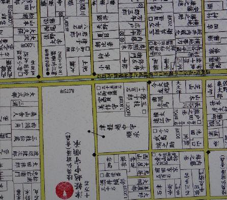 江戸末期の地図