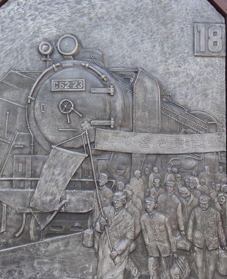 「ああ上野駅の碑」