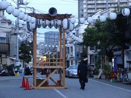 佃島盆踊り会場