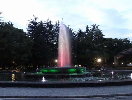 日比谷公園の噴水