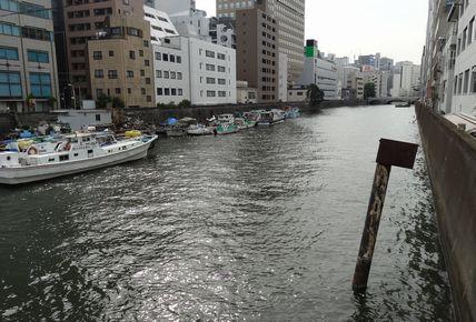 日本橋川の入り口