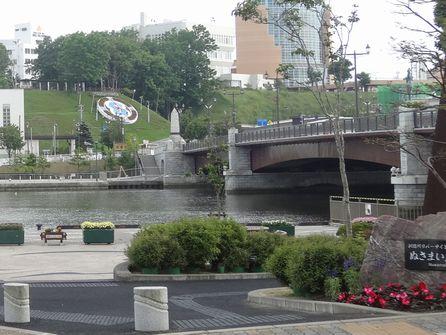 花時計の上・幣舞公園