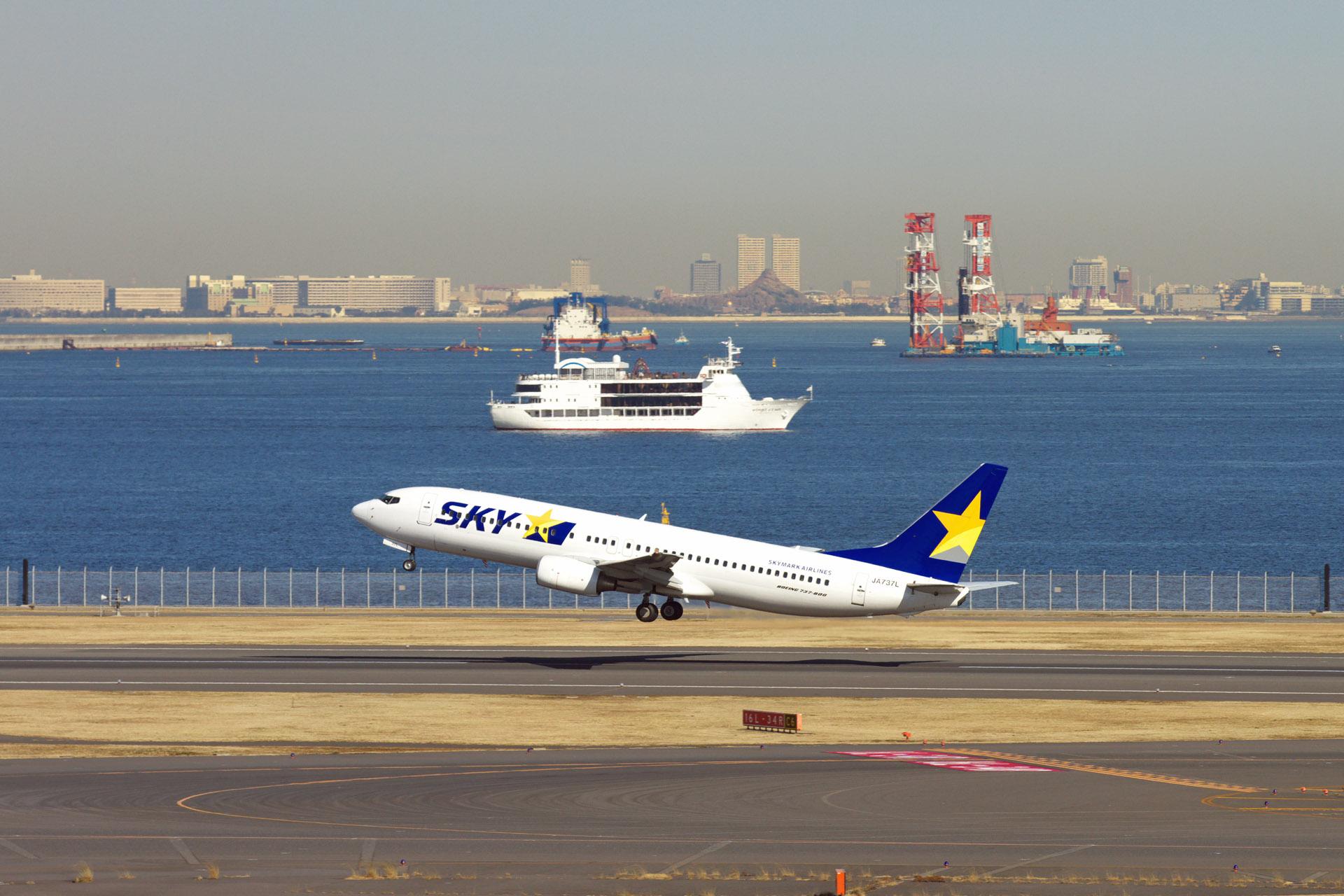 夫婦で飛行機三昧:離陸機と東京ディズニーリゾート