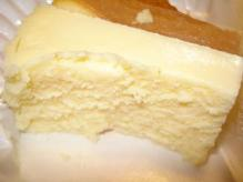 白いベイクドチーズ