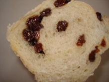 ぶどうパン断面