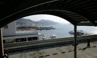 長崎の港だよ♪