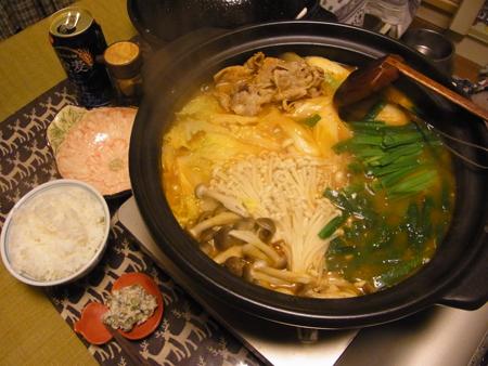 3キムチ鍋定食