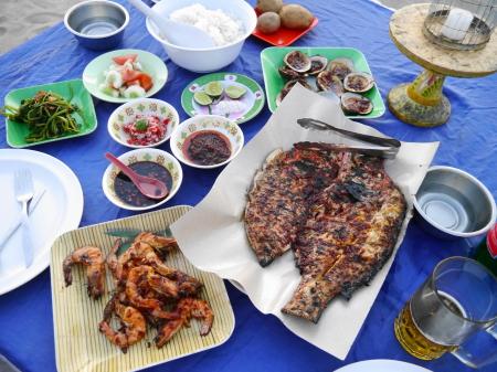 イカンバカールの食事