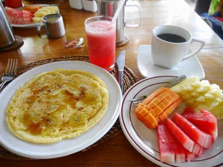 チェンダナ セットメニュー朝食