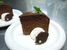 Gooseberryの植木鉢-チョコレートケーキ