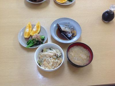 20130225秋刀魚の生姜煮&たけのこごはん