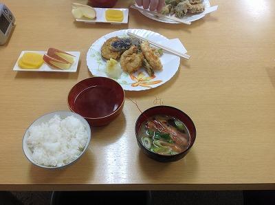 20130227天ぷら&海老のお汁