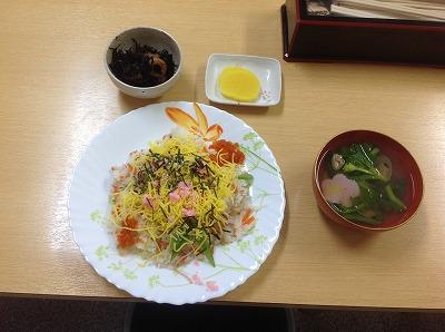 20130301おひなさまちらし寿司