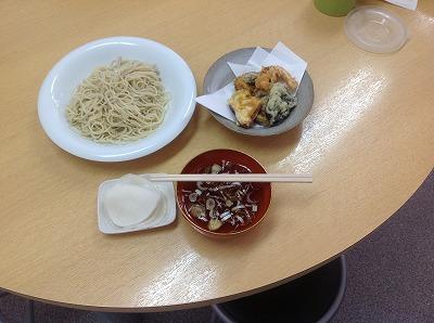 20130314天ぷら&冷たいソーメン