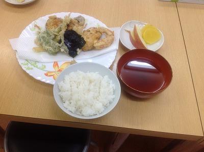20130507天ぷらの盛り合わせ