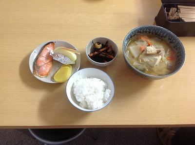 20130318鮭&豚汁