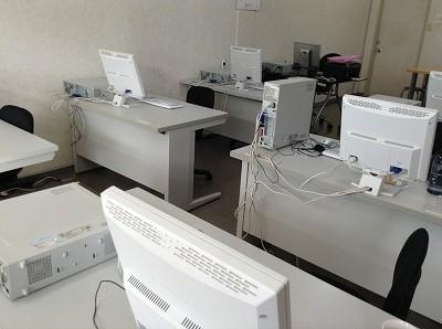 パソコンの、作業室です。