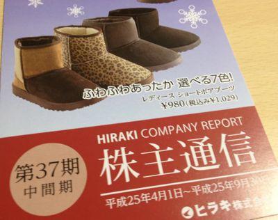 3059 ヒラキ 事業報告書