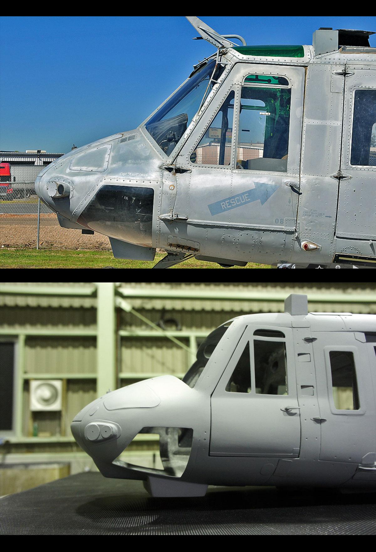 UH-1N-左フロント