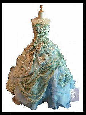 s-ドレス(ブルー)