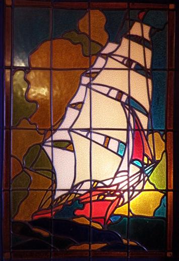 ガラスの船