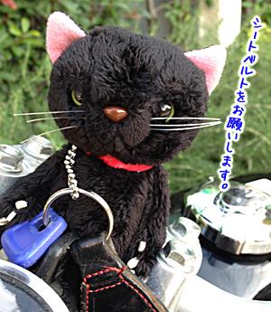 黒猫キーホルダー