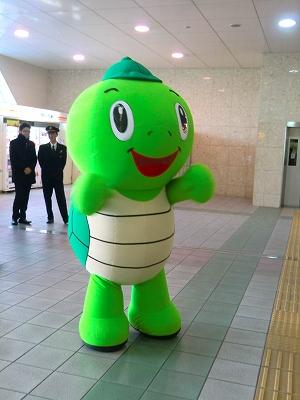 岐阜駅お出迎え