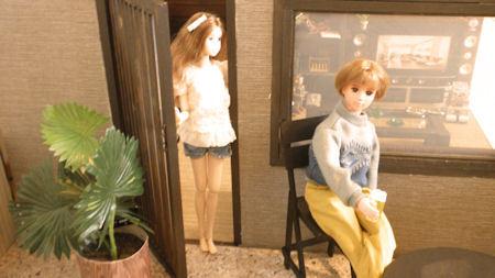 ぽんぽんの大人のお人形遊び♪