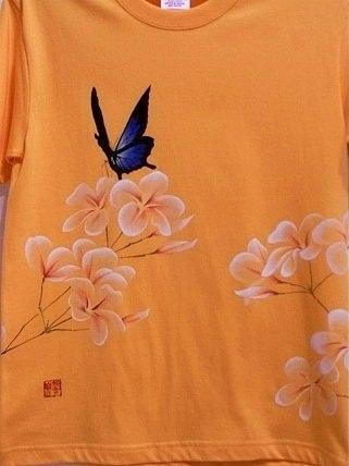 ユリシスとプルメリア Tシャツ 20128151