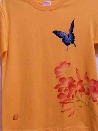 ユリシスとプルメリア Tシャツ 20128152