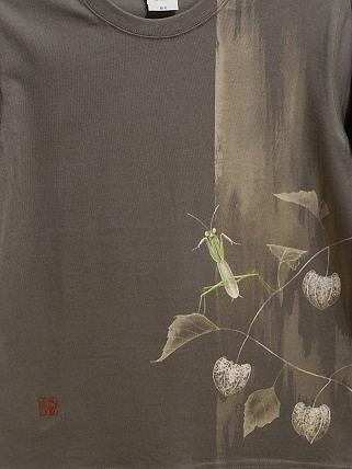 鬼灯とカマキリ Tシャツ 20128171