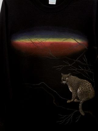 豹 Tシャツ