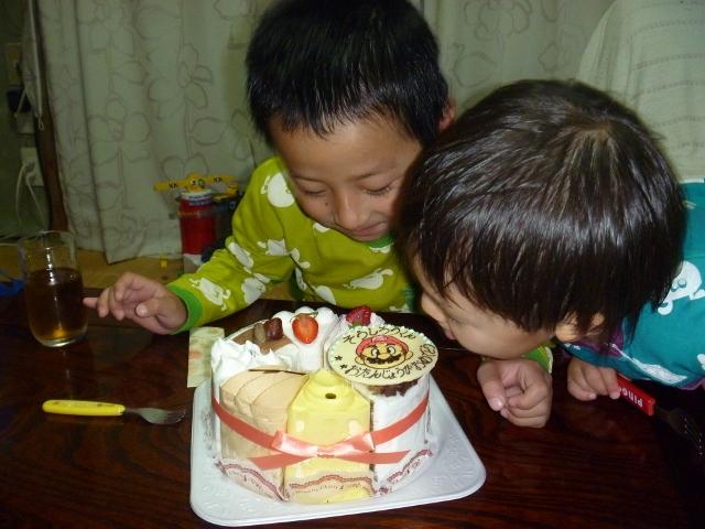 5歳たんじょうび