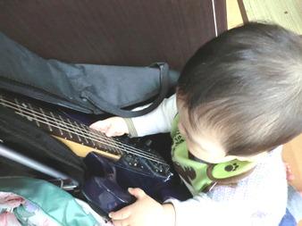 RIKUとギター