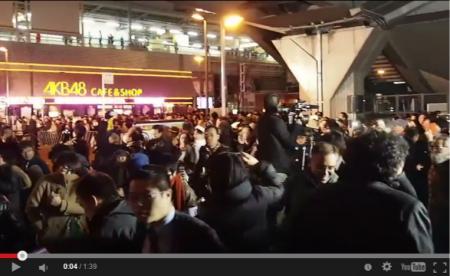 【動画】「帰れ!」「ゴミ!」秋葉原駅前で聴衆の一部からメディアに罵声 [嫌韓ちゃんねる ~日本の未来のために~ 記事No1649