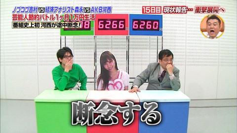 河西智美・「1ヶ月1万円生活」逃亡(2)