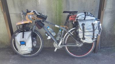 自転車・装備後