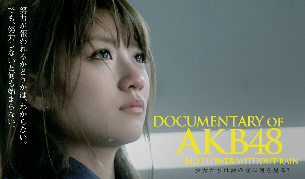 『DOCUMENTARY OF AKB48 NO FLOWER WITHOUT RAIN 少女たちは涙の後に何を見る?』