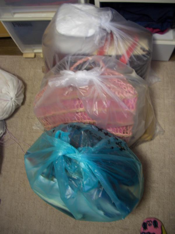 バッグの整理収納