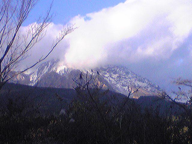 Mt. Fugen 20121209