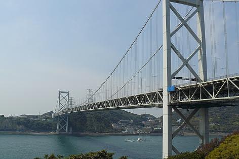 関門海峡が眺められて♪