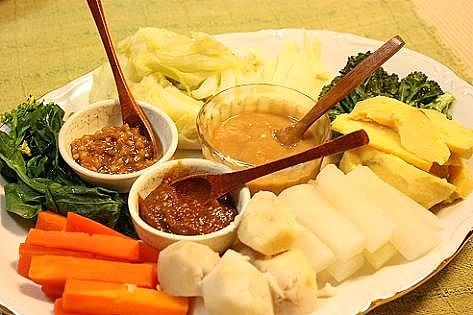 温野菜のディップ♪